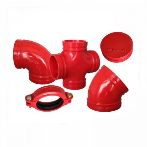 fittings pipe wesi ductile alur manufaktur fittings pipe