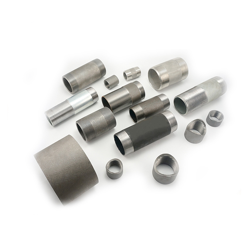 din standard black carbon steel pipe nipple 1 2 inch x 12 inch price