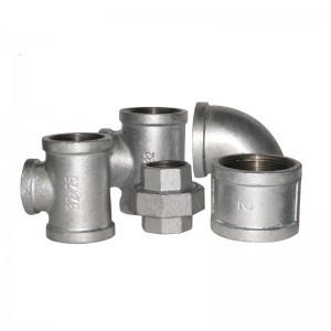 cast iron pipe fittings suppliers 2 inch malleable iron galvanized pipe fittings
