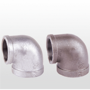 China malleable iron pipe plumbing fittings galvanized black thread cast iron hardware fittings elbow