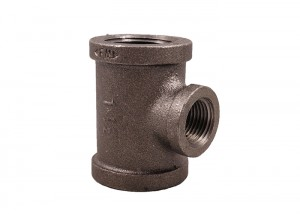 Factory Direct Supply Malleable Iron Tee Equal Reducing Female Thread