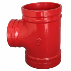 best price grooved connection cast iron pipe fittings test tee y pipe fitting