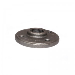 lowes black iron floor flange black iron pipe fittings wholesale