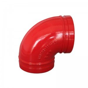 Grooved 90°Elbow