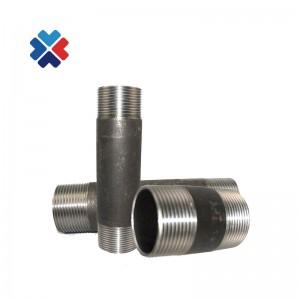 "1/2"" Length 100mm SCH 40 NPT Thread carbon steel barrel nipple"