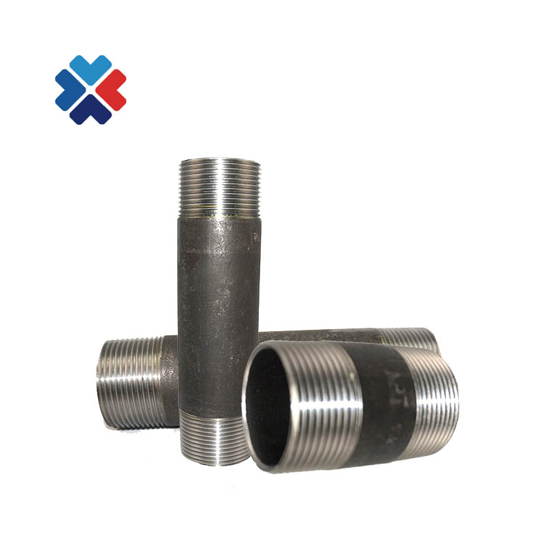 "1/"" GALVANIZED STEEL CLOSE NIPPLE fitting pipe npt x CLOSE malleable iron"