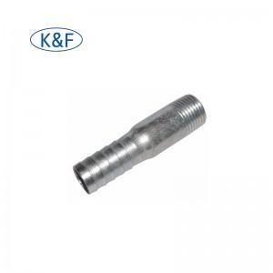 Steel pipe air hose nipple connector fittings