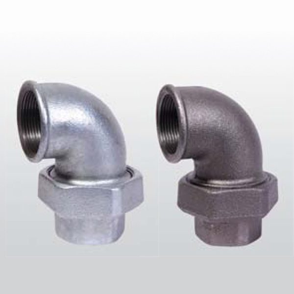 Special Design for Union Elbow F&F conical joint iron to iron to Cannes Manufacturer